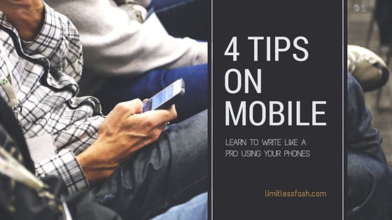 4 tips on mobile phone