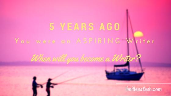 You are not an aspiring writer